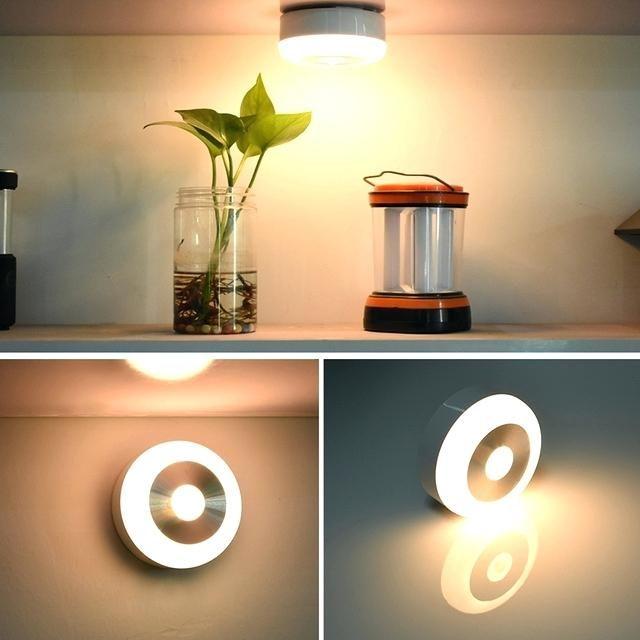 Motion Sensor Lamp Indoor Wireless Light