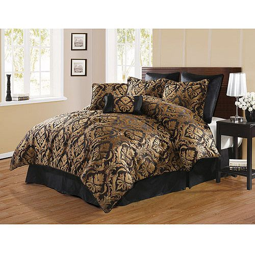 Image Of Black And Gold Bedding Sets For Adding Luxurious Bedroom Decors Gold Bedding Sets Luxury Bedroom Decor Gold Bed