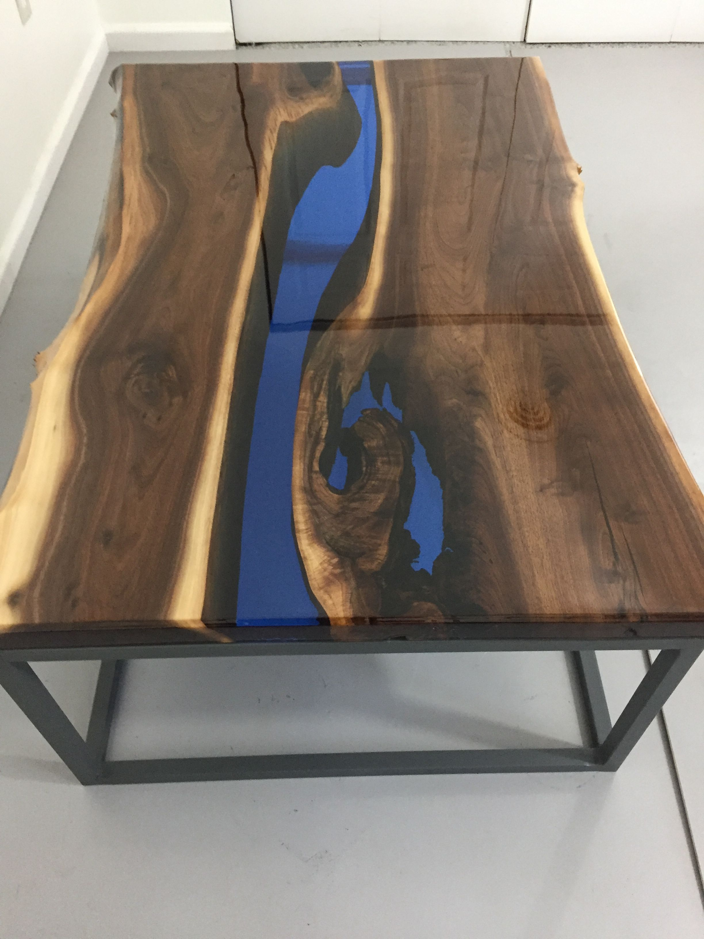 Pin By David Rogers On Resin River Coffee Table Wood