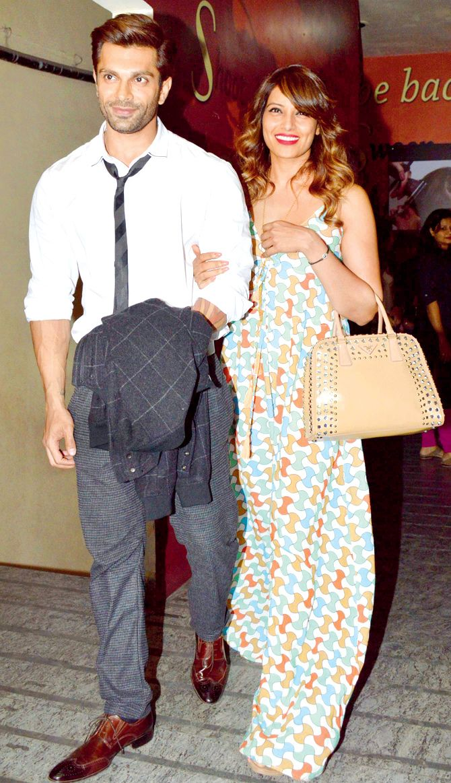 Karan Singh Grover and Bipasha Basu at a screening of 'Hate Story 3'. #Bollywood #Fashion #Style #Beauty #Hot #Bengali