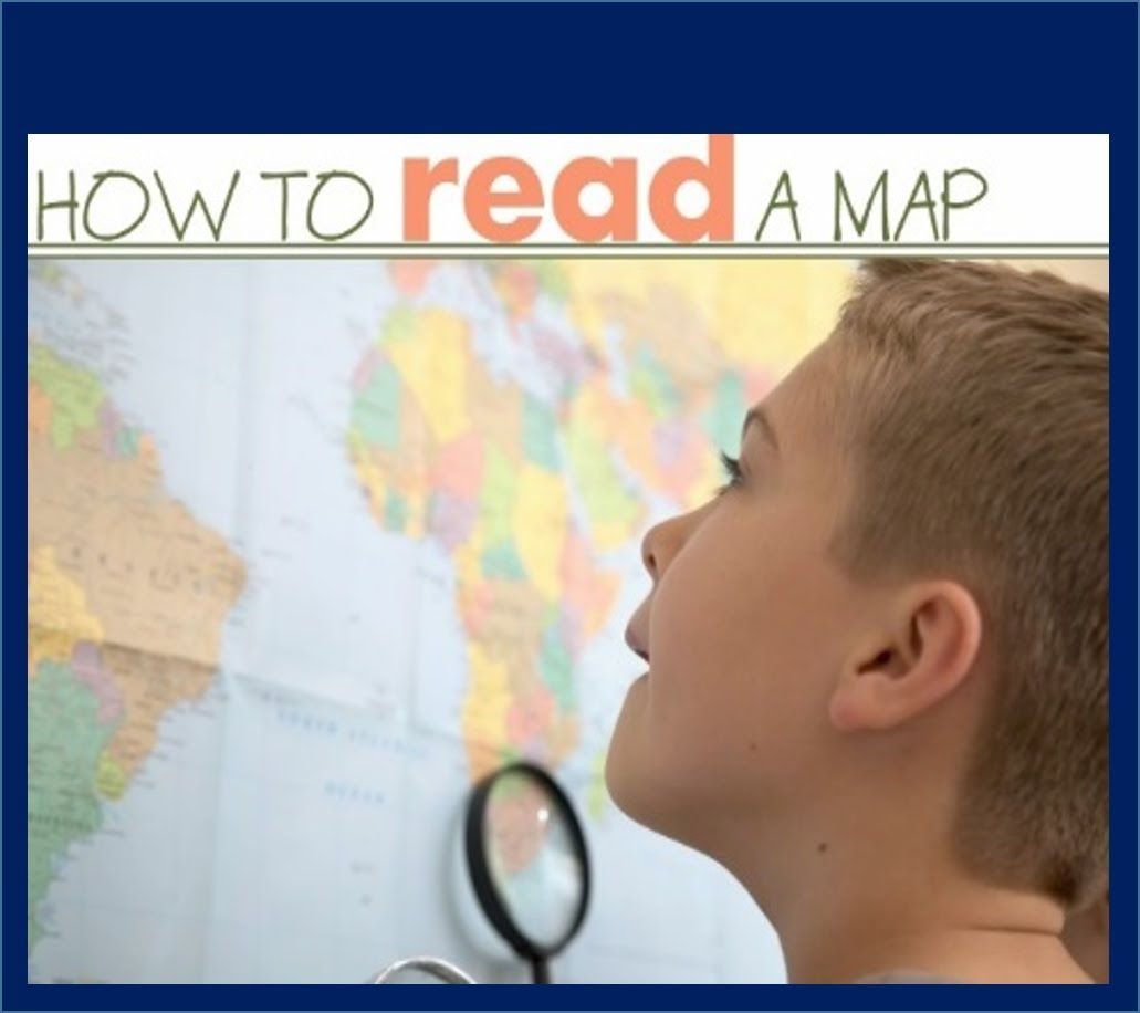 Maps And Cardinal Directions Reading Maps