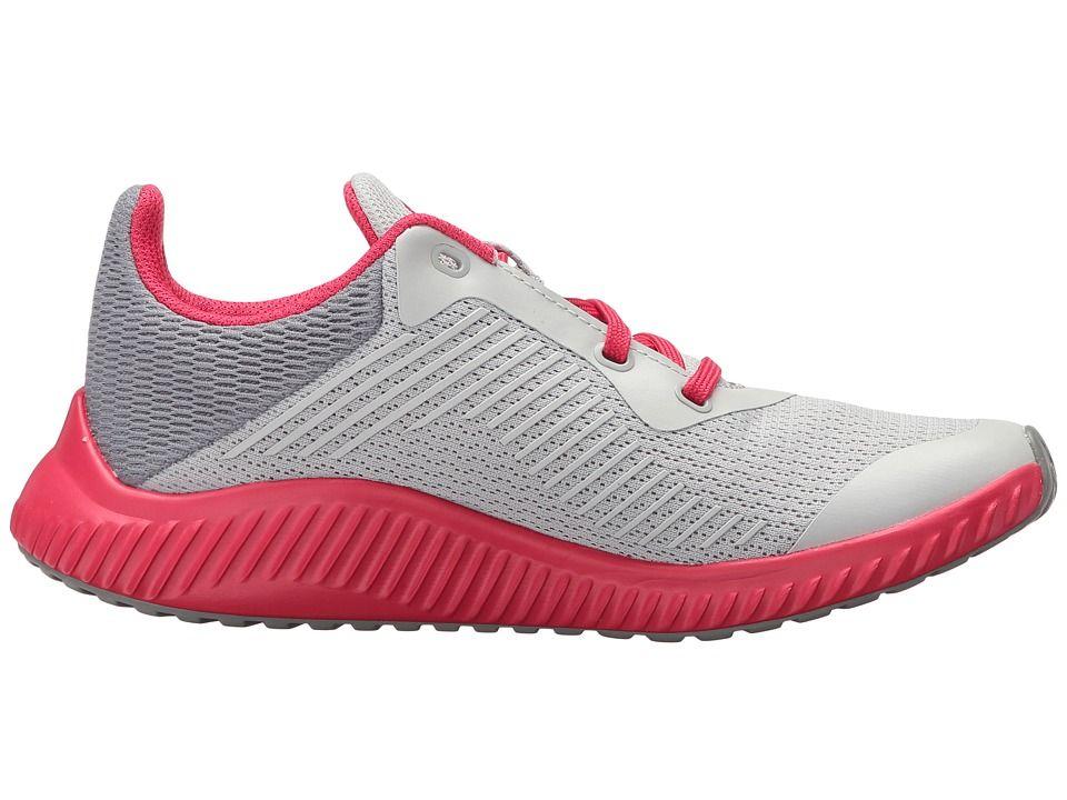 bc67b116897 adidas Kids FortaRun K Wide (Little Kid Big Kid) Girls Shoes Grey Two Grey  Three Energy Pink