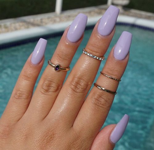 Pin By Alex Bartram On Holidayy Lilac Nails Lavender Nails Purple Nails