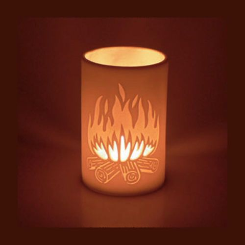 Fired Up Campfire Tealight Candle Holder