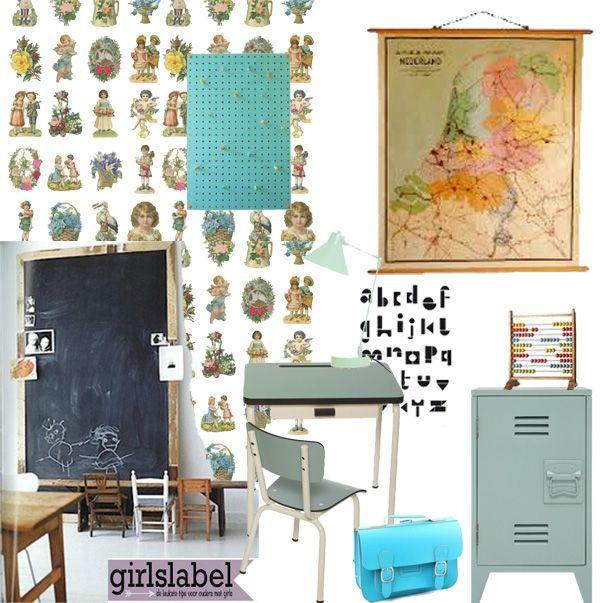 juffenkamer, meisjeskamer, meisjeskamer inspiratie, kinderkamer, Deco ideeën