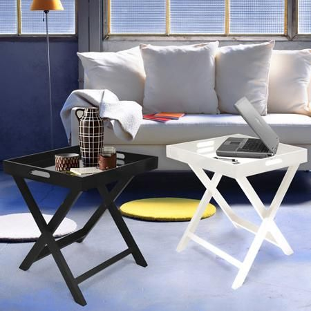 Strange Urban Shop Side Table With Removable Tray Multiple Colors Lamtechconsult Wood Chair Design Ideas Lamtechconsultcom