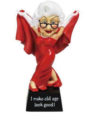 Biddys Looking Good Figurine Westland Giftware Old Age Figurines