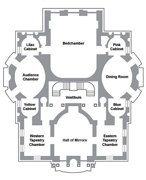 Linderhof Byspell Palace Floor Plan As Inspiration Will Obviously Change Things Around Some Castle Floor Plan Linderhof Palace Castles Interior