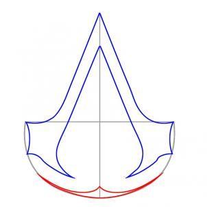assassin 39 s creed symbol deconstruction by the neverborn saga pinterest. Black Bedroom Furniture Sets. Home Design Ideas