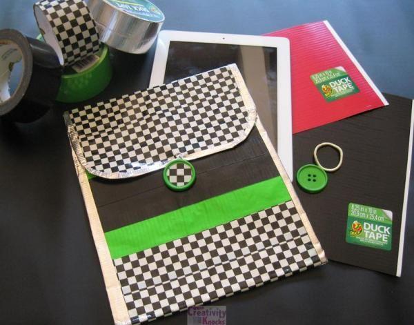 Duck tape iPad Cover – When Creativity Knocks · Indie Crafts   CraftGossip.com