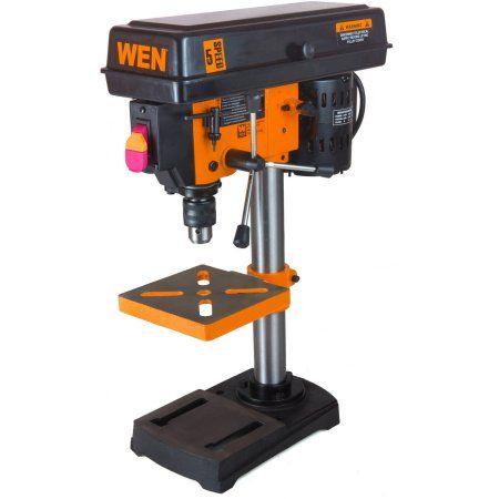 Wen 8 Inch 5 Speed Drill Press 4208 Walmart Com In 2020 Drill Press Drill Speed Drills