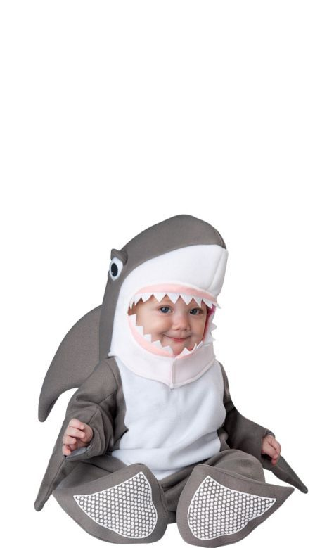80db72931f24 Baby Bite Size Shark Costume - Party City