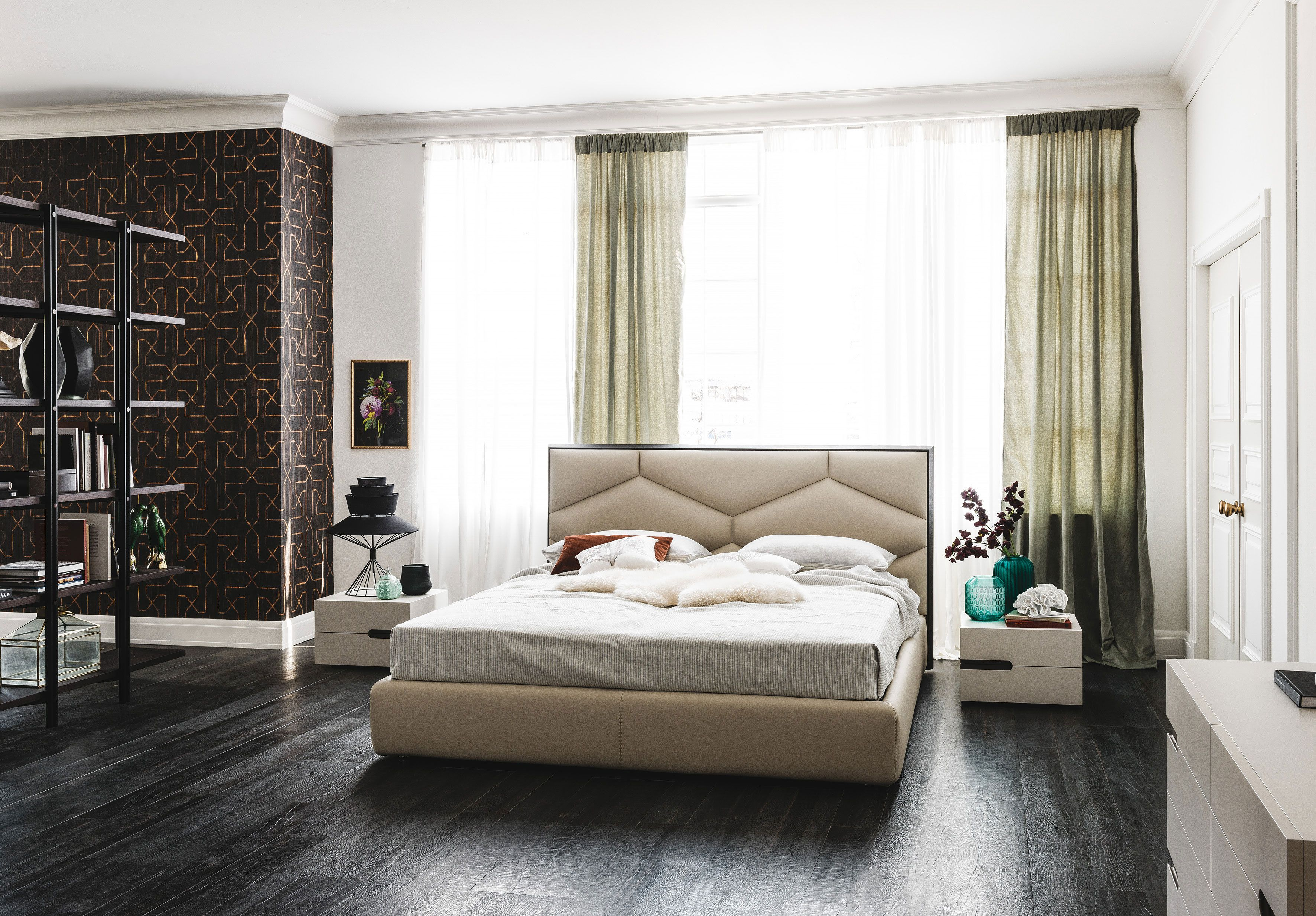 Edward Bed Cattelan Italia Bedroom Design Luxurious Bedrooms Contemporary Bed Luxury double bed room