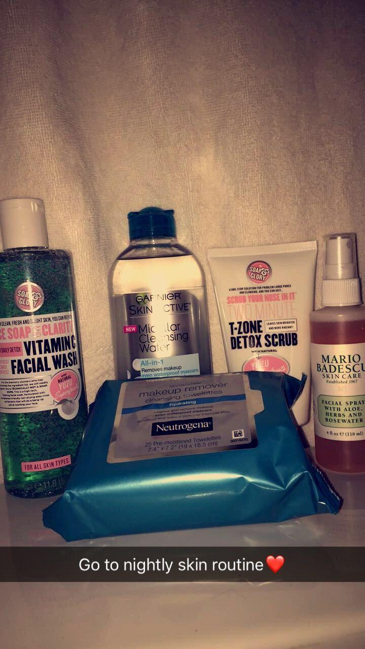 Night Time Skin Care Routine Gaya Rambut Lucu Rambut Lucu