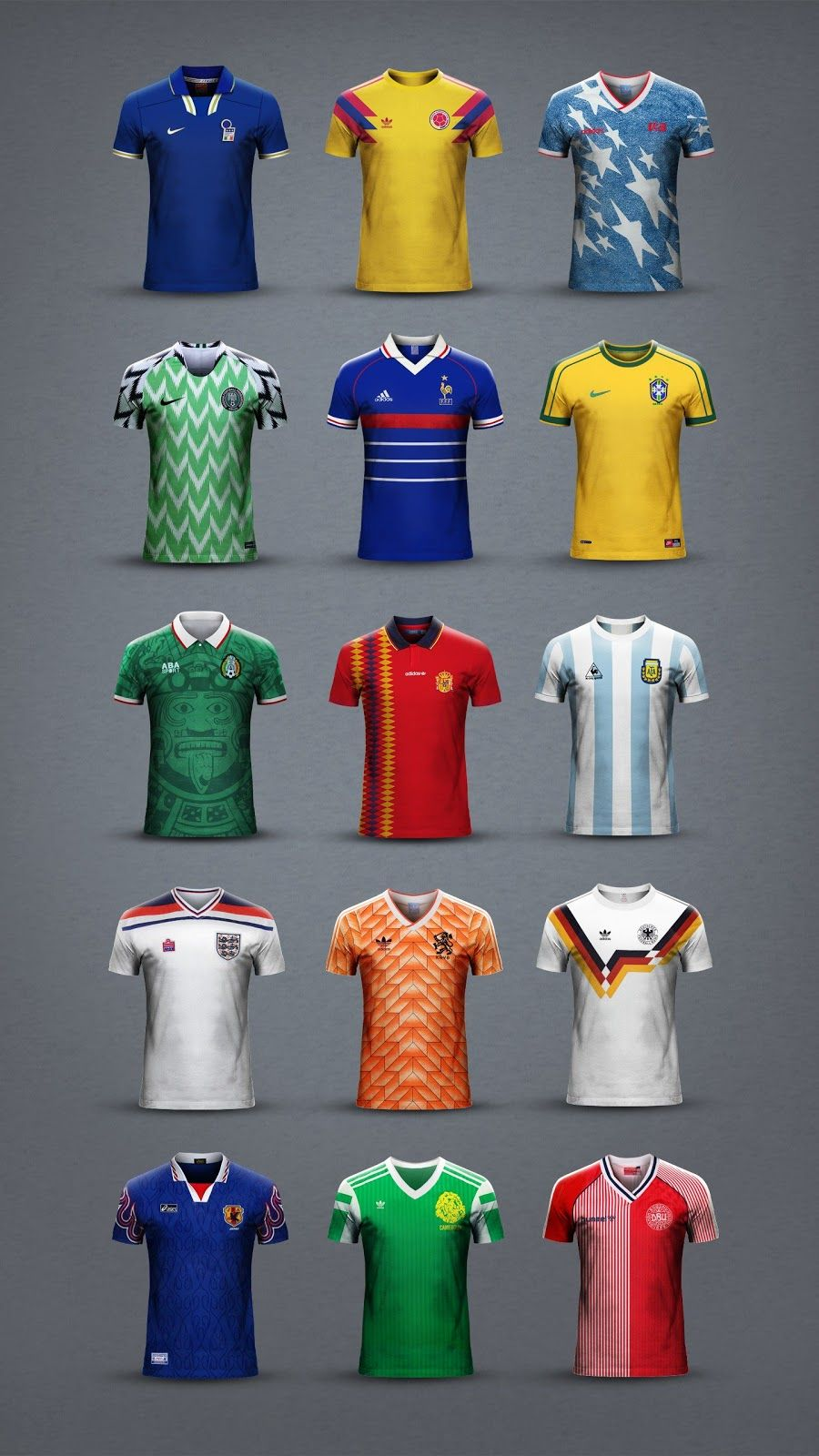 Which Is The Best National Team Football Kit Ever Footy Headlines Classic Football Shirts Football Kits Football Fashion