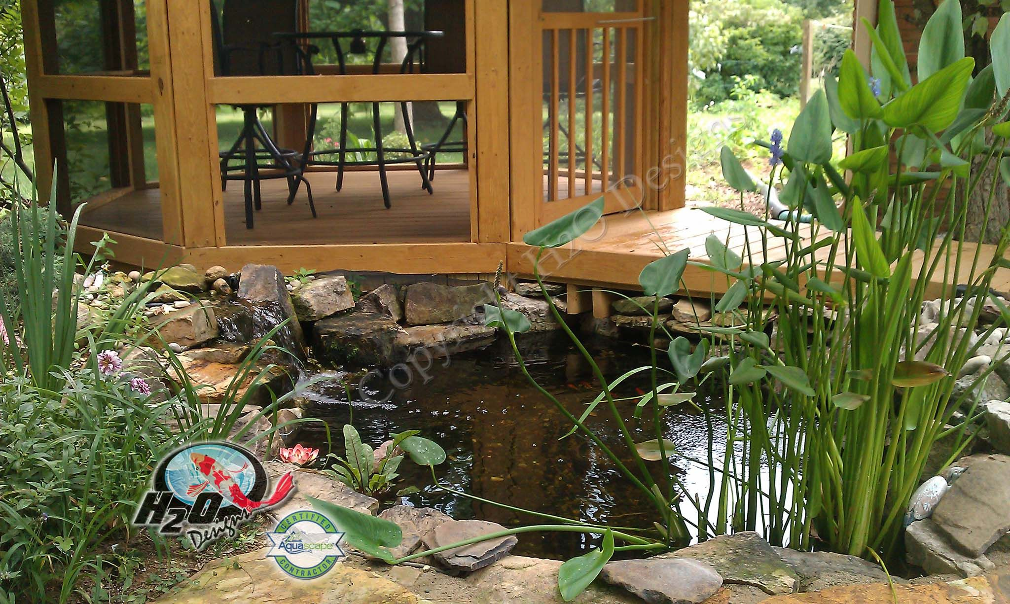 Fish Pond in Danville Kentucky (KY)   Pond Contractor-Installation ...