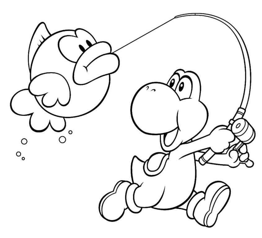 Disegni Per Bambini Super Mario Disegni Da Stampare E Colorare