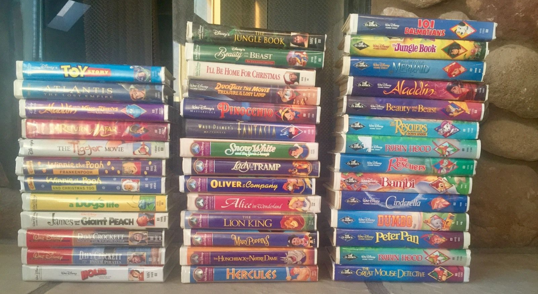 Sell Vhs Tapes >> Could Your Disney Vhs Tapes Really Be Worth Thousands Of