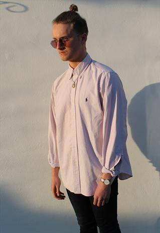 Ralph Lauren Pastel Pink Pinstripe