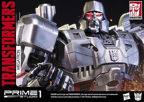 PMTF-02 Megatron Transformers Generation 1 Statue Official Images From Prime 1 Studio