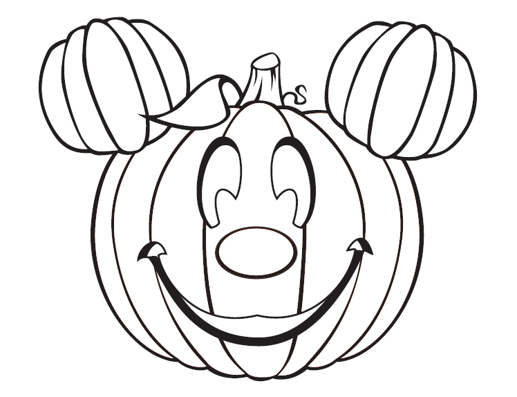 Mickey Pumpkin Halloween Coloring Pages Printable Free Halloween Coloring Pages Pumpkin Coloring Pages