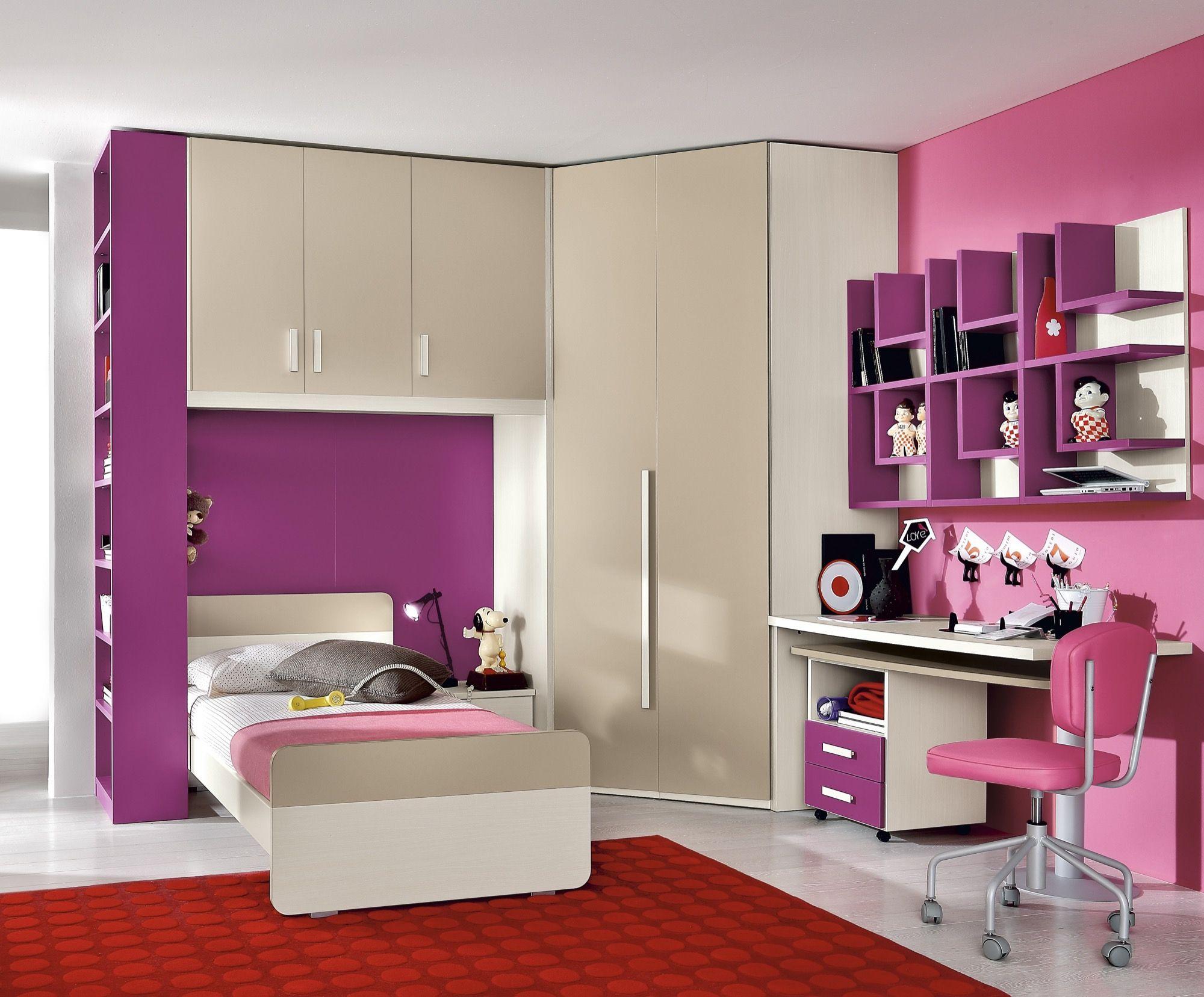 Camere per Bambini progetto S+M furlan mobili Camere