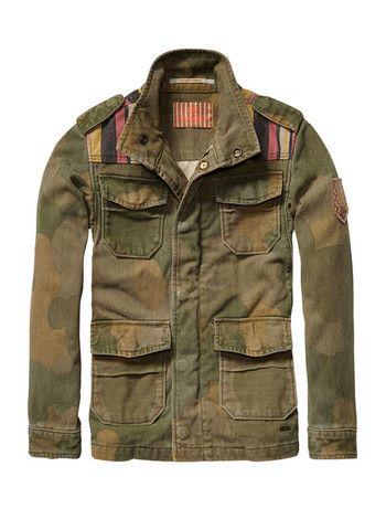 294f7a27f035 Scotch Shrunk Boys Army Camouflage Jacket Jacquard Yokes - FINAL ...