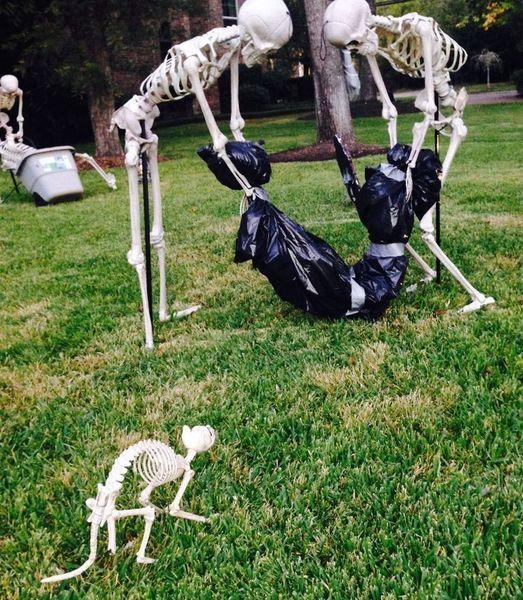 56 Creative DIY Halloween Decorations Ideas That Will Surprise - #halloweendecorationsoutdoor