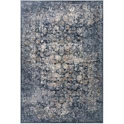 Photo of benuta carpet Yara gray / blue 240×330 cm – vintage carpet in the used look benuta