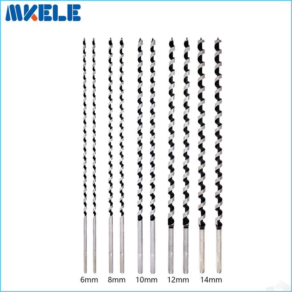 10pcs/set wood bits Quality Carbon Steel Sharp Twist Drill