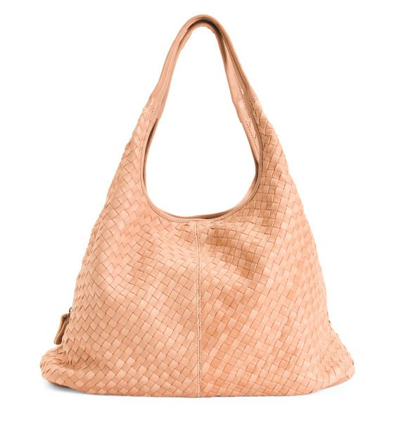 bea4b32ebfb4 LANGELLOTTI New Womens Made In Italy Leather Hobo Multi Com Style MSRP:  $495 NWT | eBay