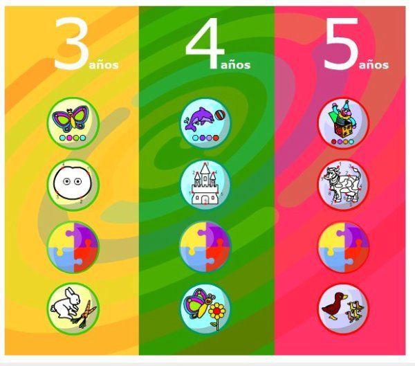 Juegos Chavales 0 6 Con Imagenes Juegos Para Preescolar