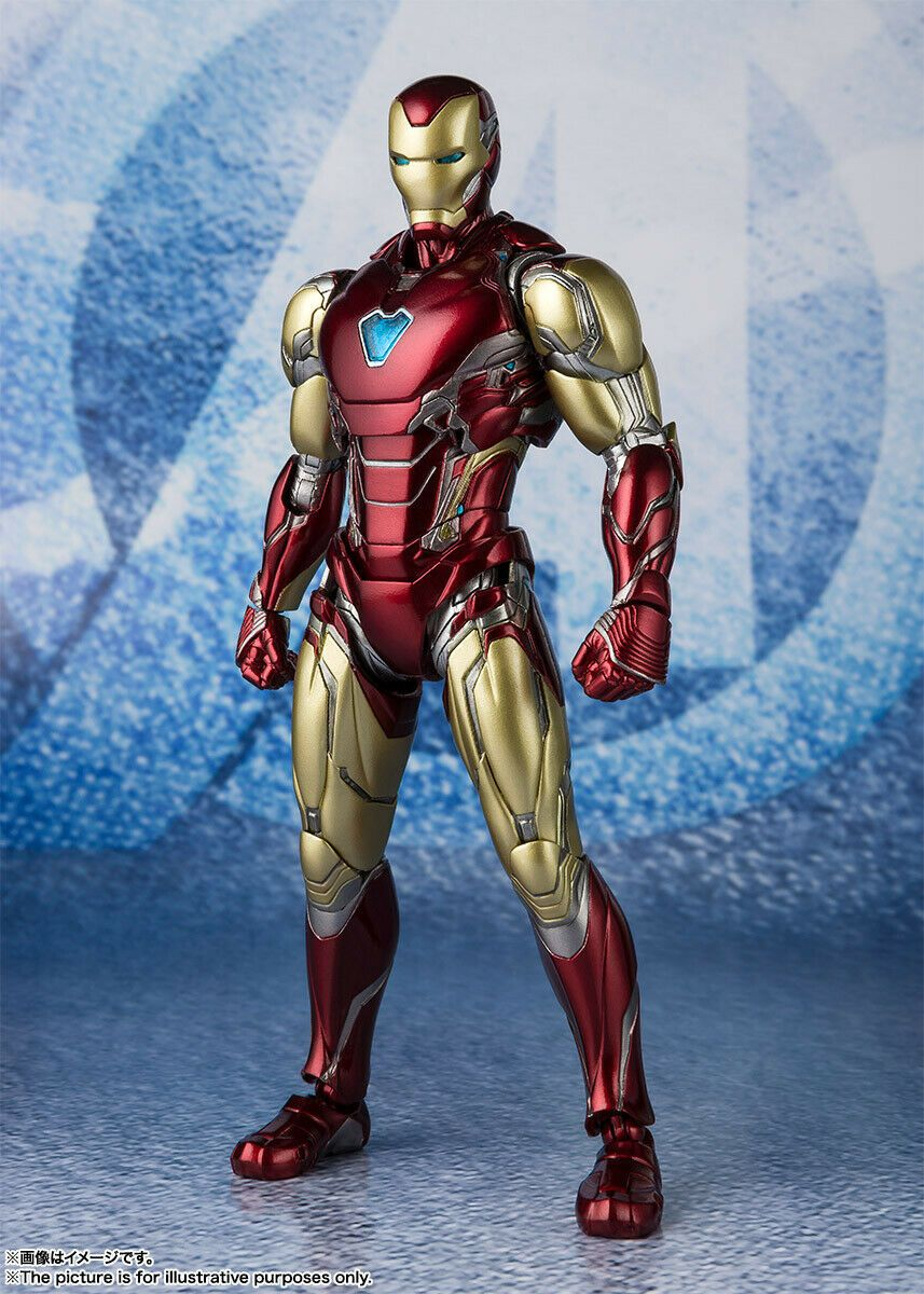 Bandai S H Figuarts Marvel Avengers Endgame Iron Man Mark Lxxxv Marvel Iron Man Iron Man Iron Man Fan Art