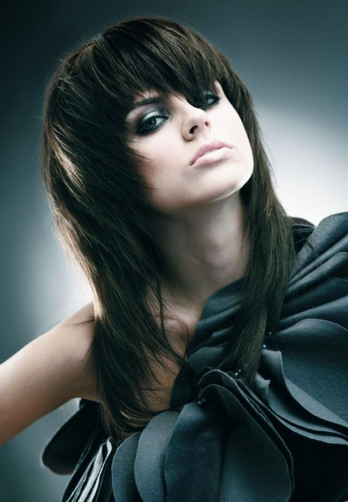 Razored Layered Haircut For Medium Hair In 2014 Famous Hairstyles