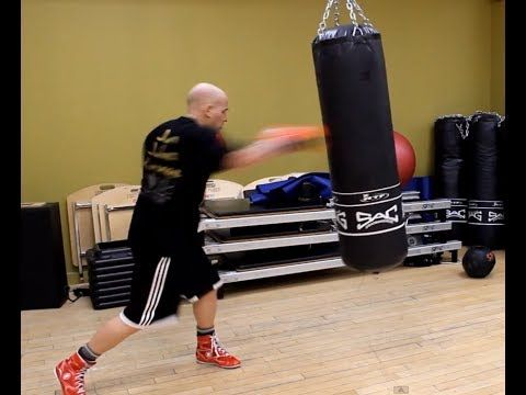 Beginner Heavy Bag Concepts - for Non-fighters