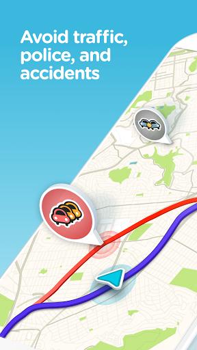Waze GPS, Maps, Traffic Alerts & Live Navigation v4.34.0