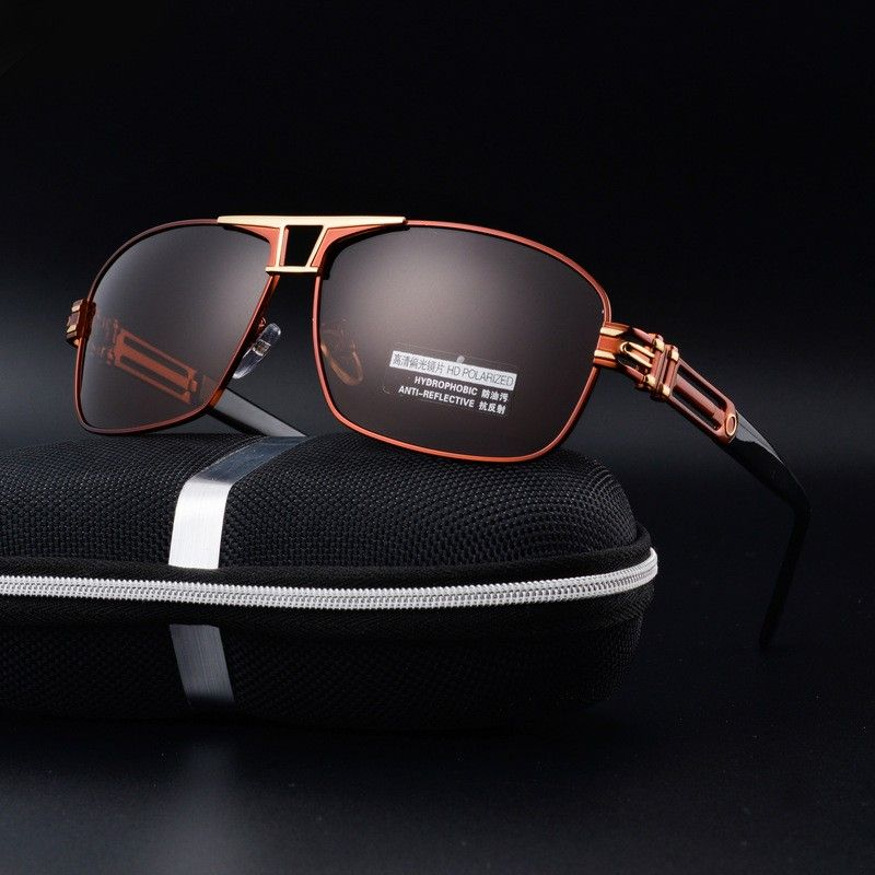 6d98a26a3e Sunglasses Men Polarized Super Cool Military Glasses For Police Driving Mens  Square Anti Glare Sun Glasses
