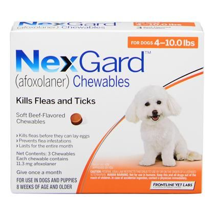 Nexgard Chewables With Images Heartworm Medication Dog Weight Flea And Tick
