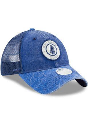 8658c83fddf New Era Chicago Cubs Blue Perfect Patch Adjustable Hat