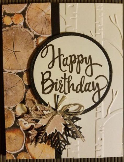 Super Vintage Cards Stampin Up Paper Ideas Birthday Cards For Men Masculine Cards Vintage Birthday Cards