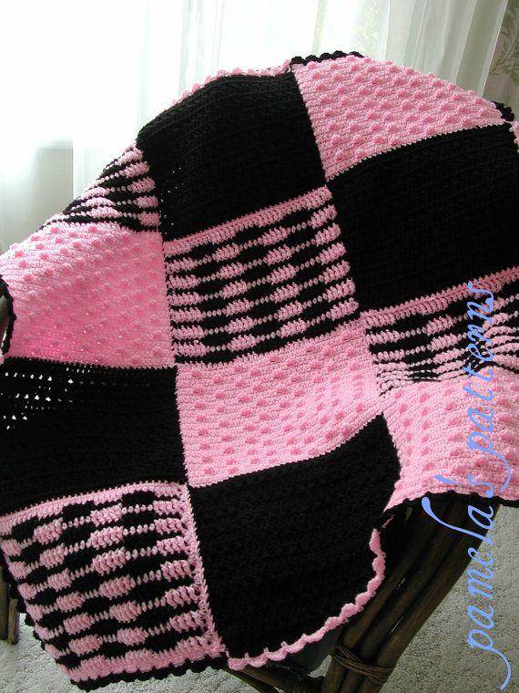 Crochet Bonnie Sax Tween Afghan PDF Pattern, Granny Square Afghan ...