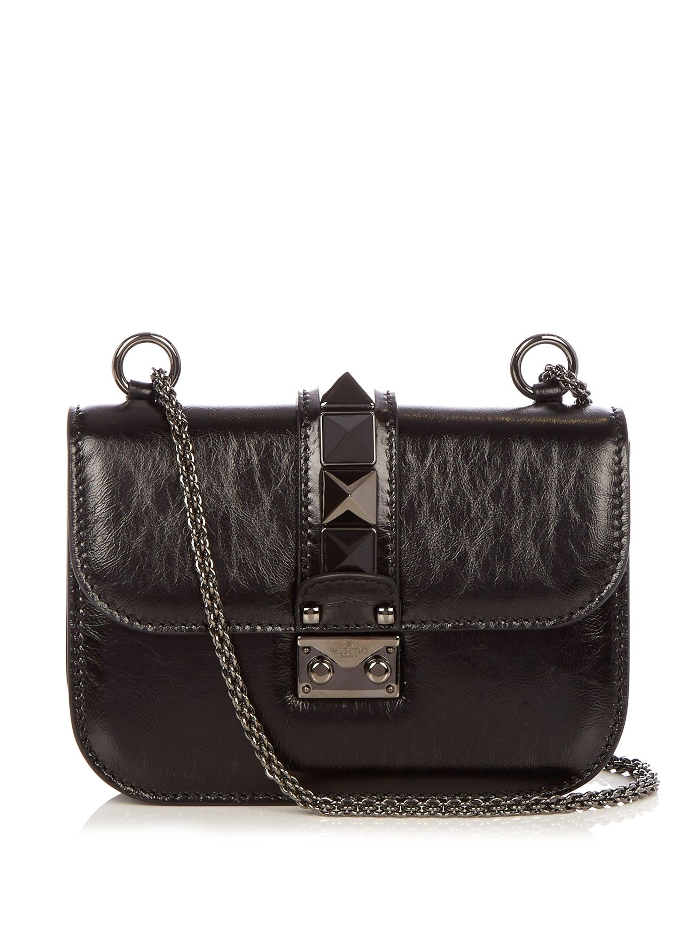 Lock Rolling small leather shoulder bag | Valentino | MATCHESFASHION.COM