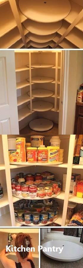 New Kitchen Pantry Ideas #kitchenpantrystorage