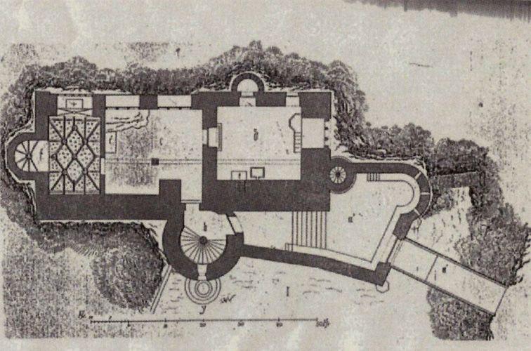 Lichtenstein Grundriss Castle Floor Plan Germany Castles Lichtenstein Castle