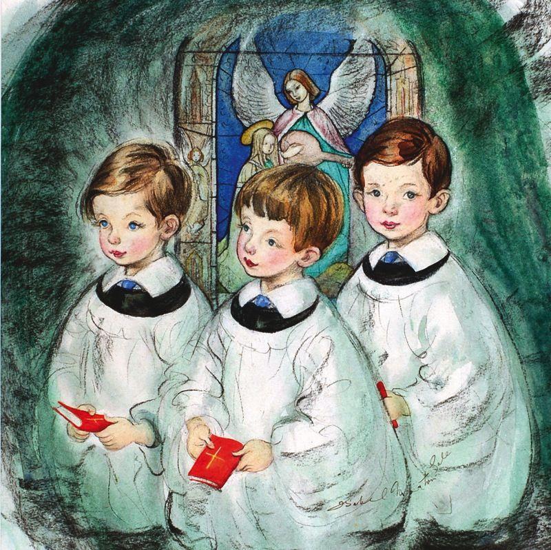 Items Similar To Vintage Santa S Workbench Dickens Choir: Pin By Patricia Dillon-Binda On Christmas