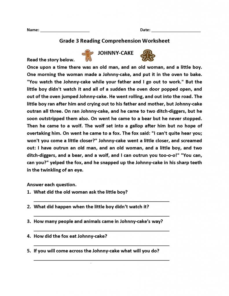 3rd Grade Worksheets Best Coloring Pages For Kids Third Grade Reading Worksheets Reading Comprehension Worksheets 3rd Grade Reading Comprehension Worksheets [ 1024 x 791 Pixel ]
