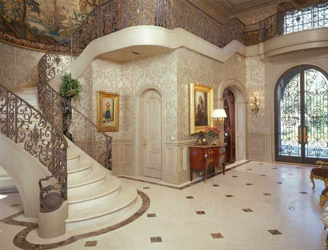 Luxury Home Foyer : Luxurious french foyer designed by nancy anderson ross