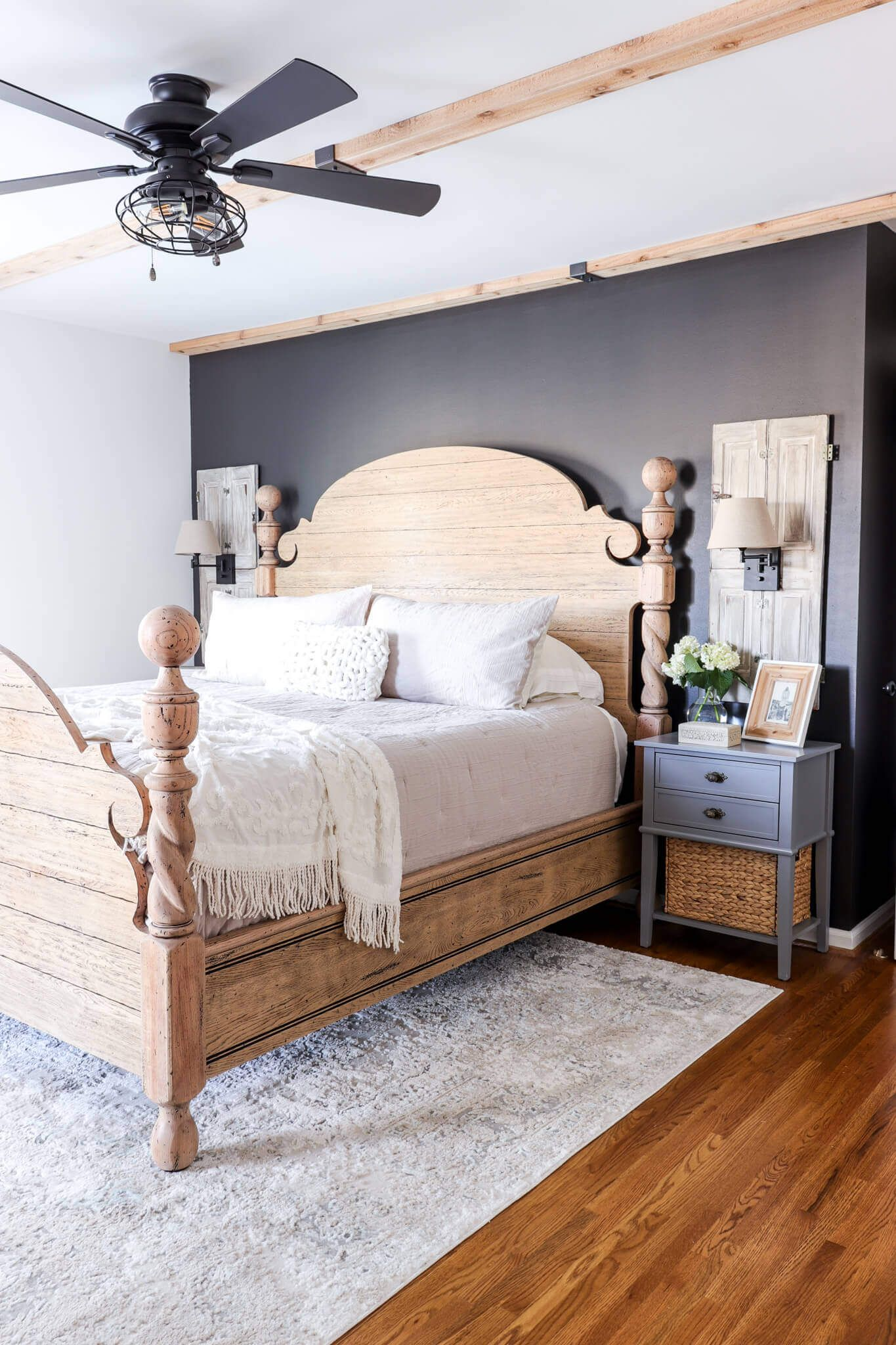 Modern French Country Bedroom Refresh French country