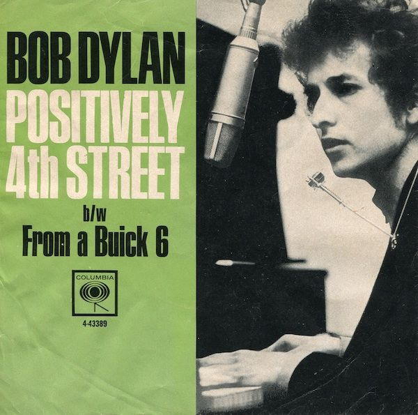 Bob Dylan U S Picture Sleeve 1965 Bob Dylan Greatest