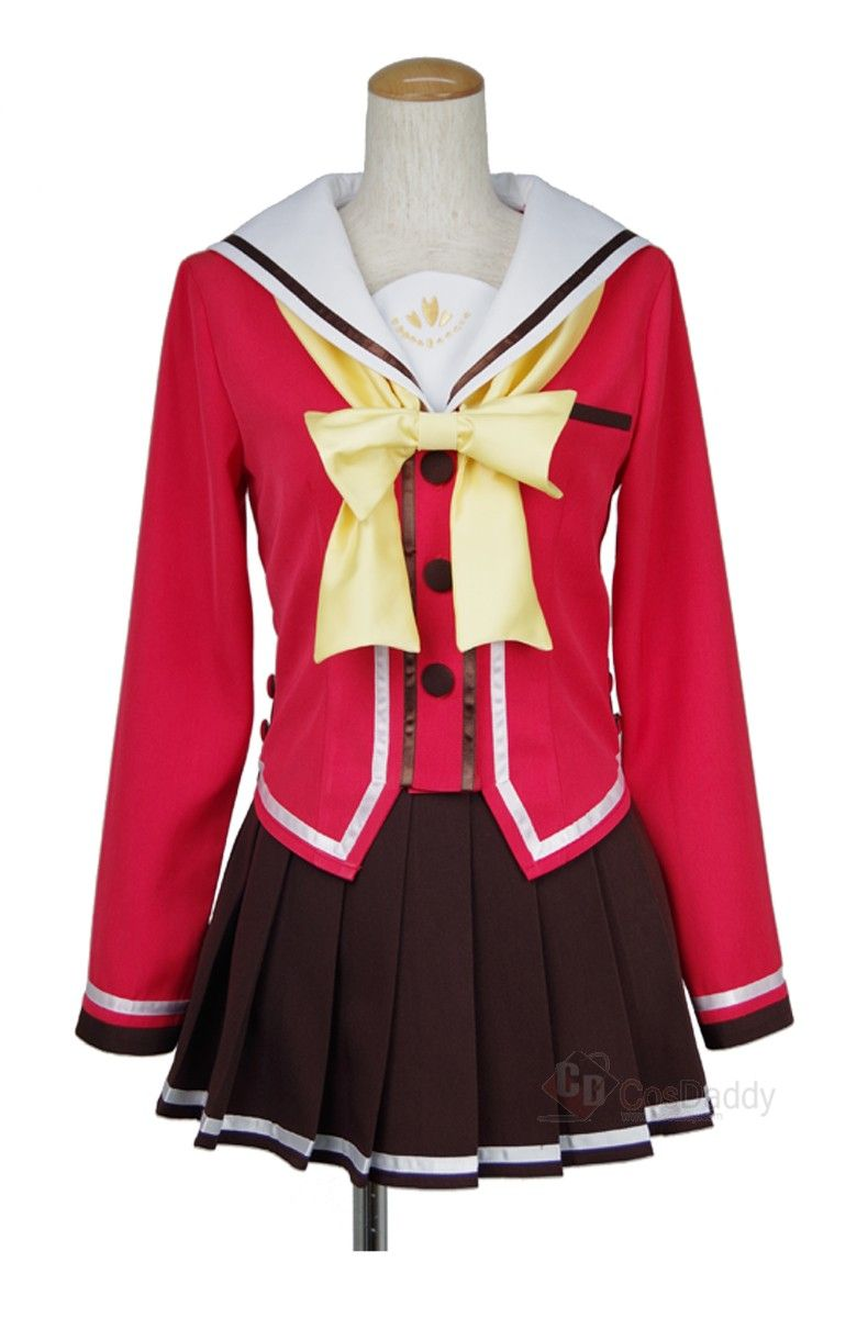 Anime Costumes Women's Costumes Japanese Anime Charlotte Tomori Nao Cosplay Costume Uniforms Beautiful Hot Sale Dress